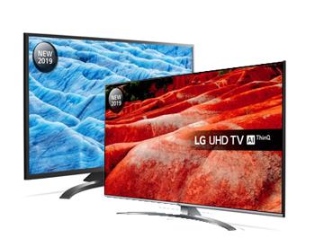 LG Smart 4K Ultra HD HDR LED TV range