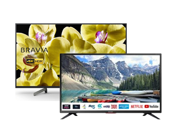 Save up to €500 on Smart TVs