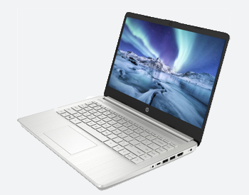 HP 14 Laptop with the latest 10th gen intel core i5