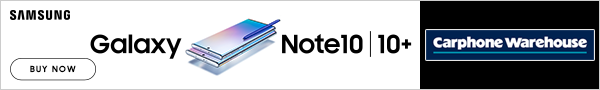 buy your Samsung Galaxy Note 10 now at Carphone Warehouse