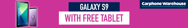 Samsung Galaxy S9 Tablet Bundle at Carphone Warehouse