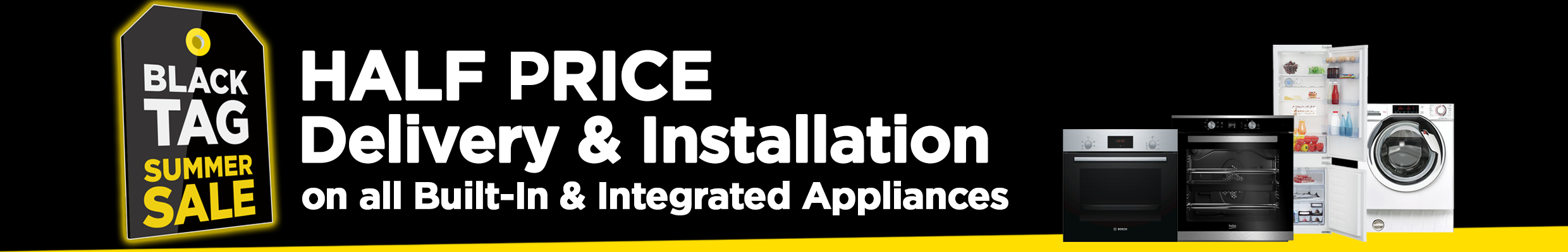 Half Price Delivery and Installation