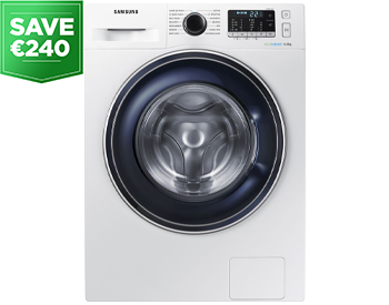 SAMSUNG ecobubble WW90J5456FX 9 kg 1400 Spin Washing Machine
