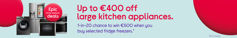 Epic Kitchen Appliance Deals