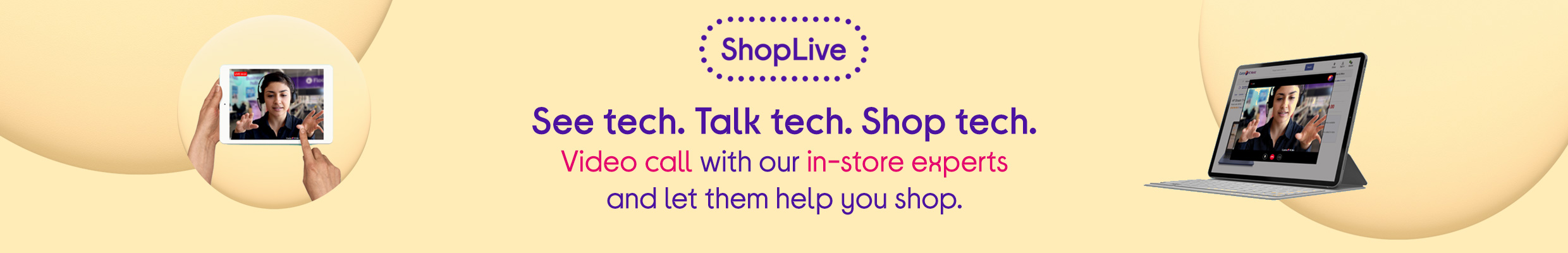 ShopLive - Chat to our experts