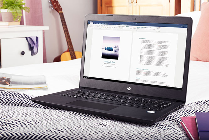 HP 14' Laptop with 1TB storage