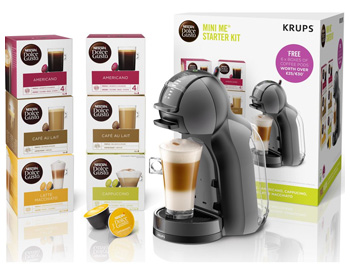 DOLCE GUSTO by Krups Mini Me coffee machine start kit