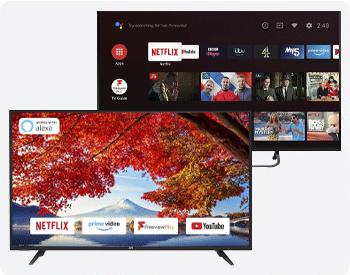 selected JVC TVs