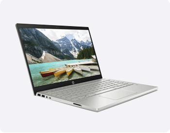 HP Pvailion 14 with 10th gen intel core i3