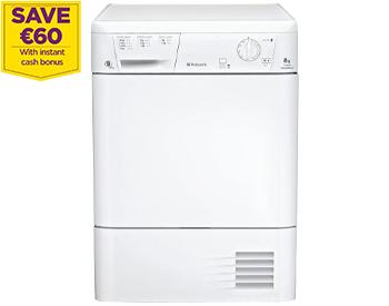 Hotpoint Aquarius TCM580BP Condenser Tumble Dryer