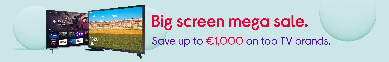 Big Screen TV Mega Sale