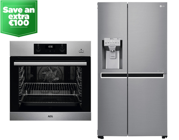Save an extra 100 euro on large kitchen appliances over 1000 euro