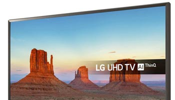 LG TV 50 inch BTE