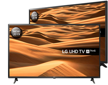 LG 43 inch Smart 4K Ultra HD HDR
