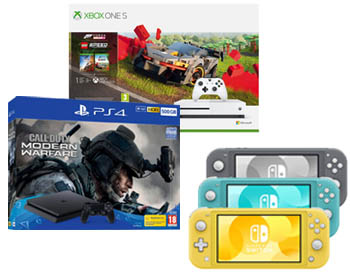 Gaming Consoles from €249