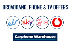 Home broadband and TV packages